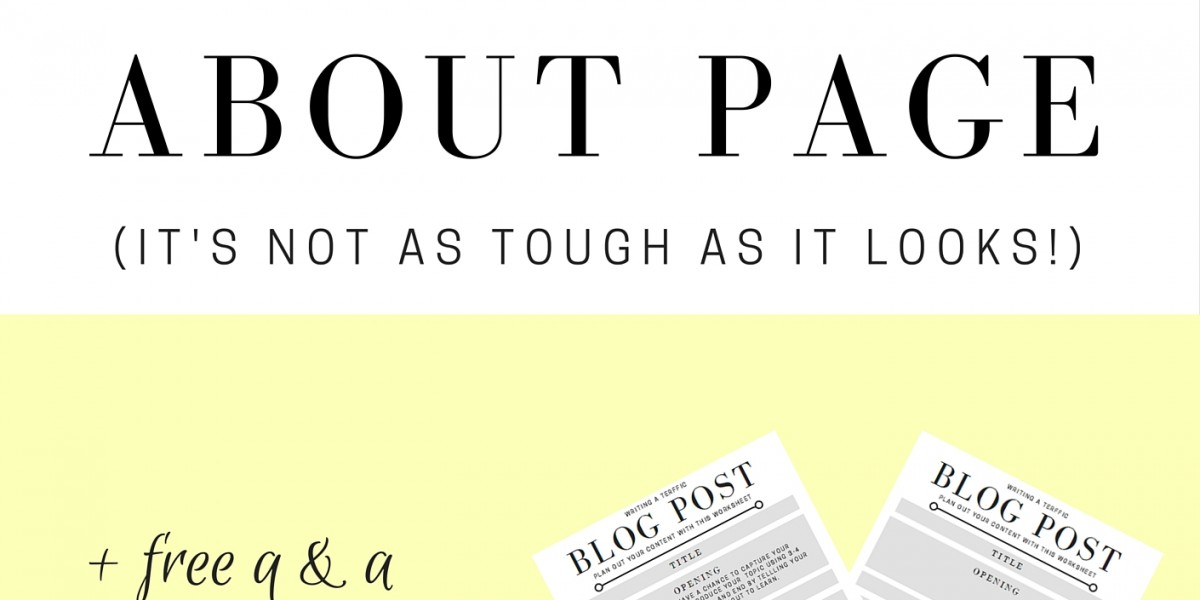 4 Big Mistakes You Could Be Making With Your About Page (+ Free Printables!)