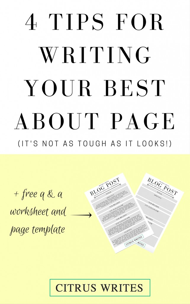 About Page Graphic